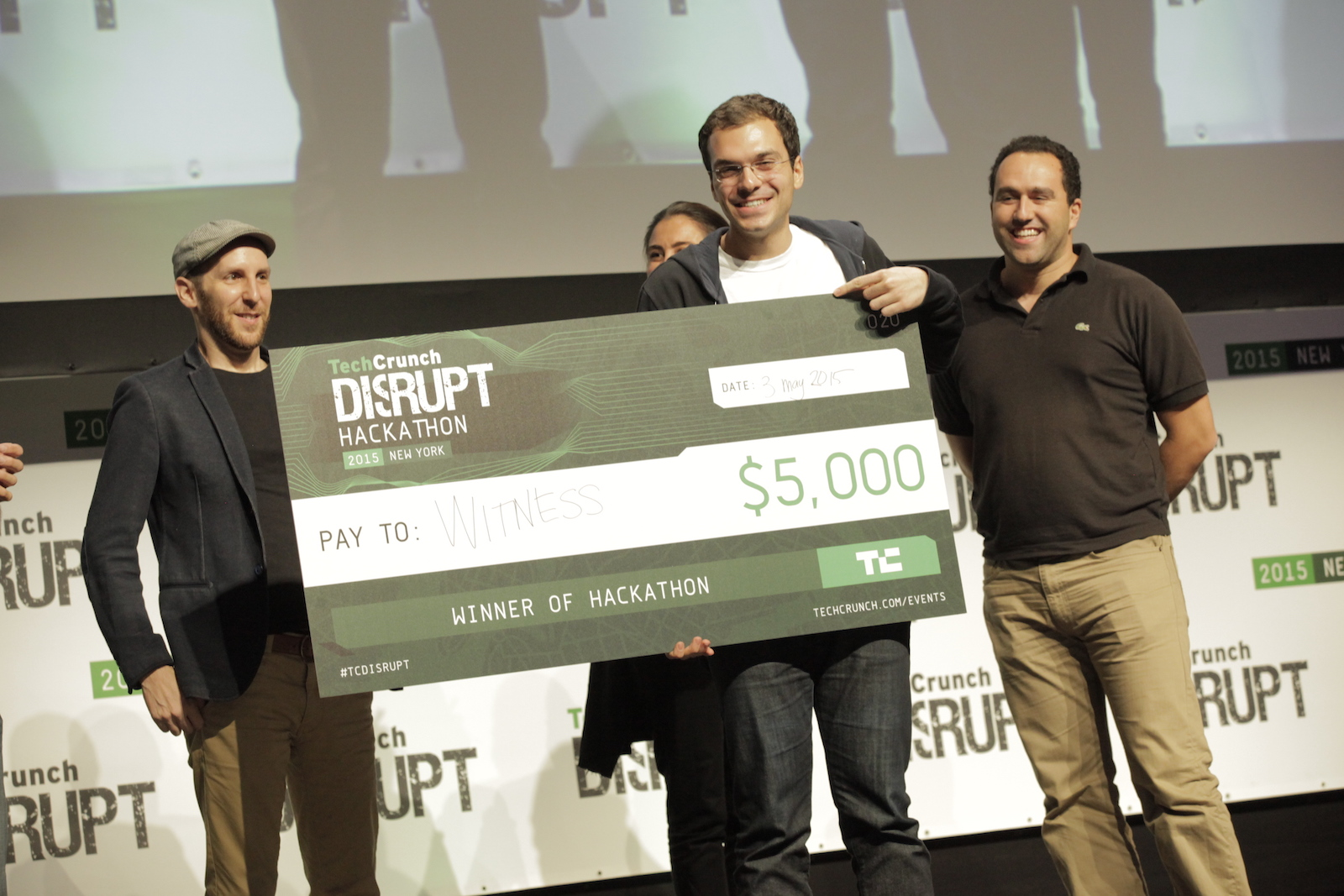Techcrunch hackathon winner 66f210b1552b8383e5072bbbfb85f03f19598755983817f795c26772409d4980